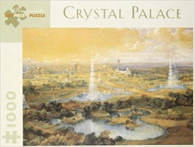 Image of the puzzle 1000, Pomegranate, Crystal Palace, by J. D. Harding, Factory Sealed, Picture of the box