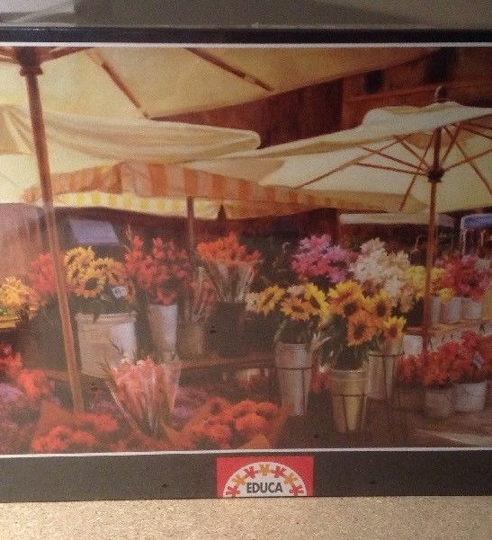 Image of the puzzle 3000, Educa, Campo di Fiori, by Jan McLaughlin, Factory Sealed