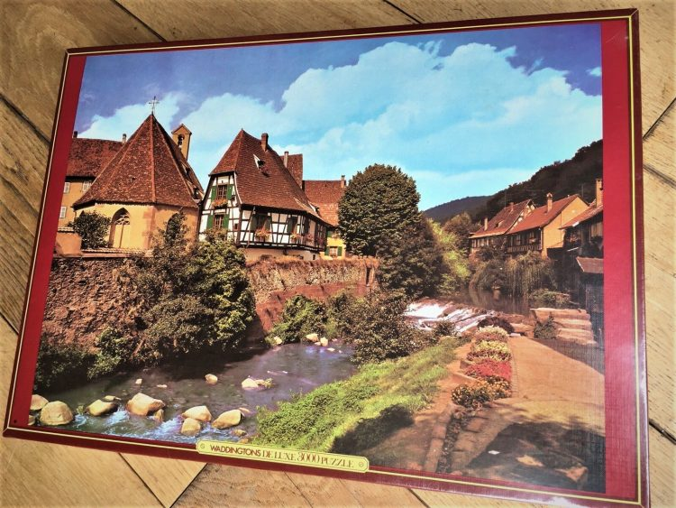 Image of the puzzle 3000, Waddingtons, Alsace, France, Factory Sealed