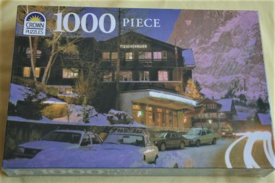 Image of the puzzle 1000, Crown, Grindelwald, Switzerland, Factory Sealed, Listed by Cathy