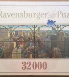 Image of the puzzle 32000, Ravensburger, New York City Window, Factory Sealed