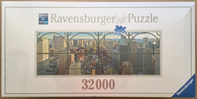 Image of the puzzle 32000, Ravensburger, New York City Window, Factory Sealed