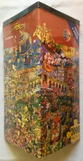 Image of the puzzle 2000, Heye, Casanova, by Jabo, Factory Sealed