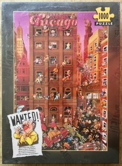 Image of the puzzle 1000, Heye, Wanted! Where is Harry the Fence, by Jean-Jacques Loup, Factory Sealed