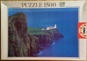 Image of the puzzle 1500, Educa, Skye, Scotland, Edmund Nägele, Sealed Bag, Picture of the box