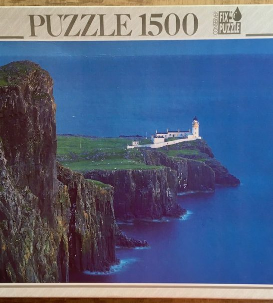 Image of the puzzle 1500, Educa, Skye, Scotland, Edmund Nägele, Sealed Bag, Picture of the box