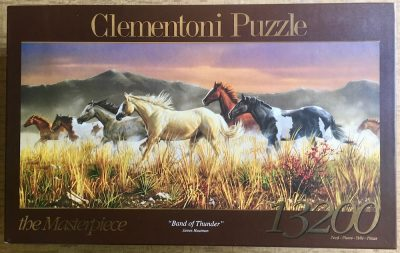 Image of the puzzle 13200, Clementoni, Band of Thunder, James Hautman, Sealed Bags, Picture of the box