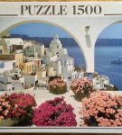 Image of the puzzle 1000, Educa, Santorini, Greece, Factory Sealed