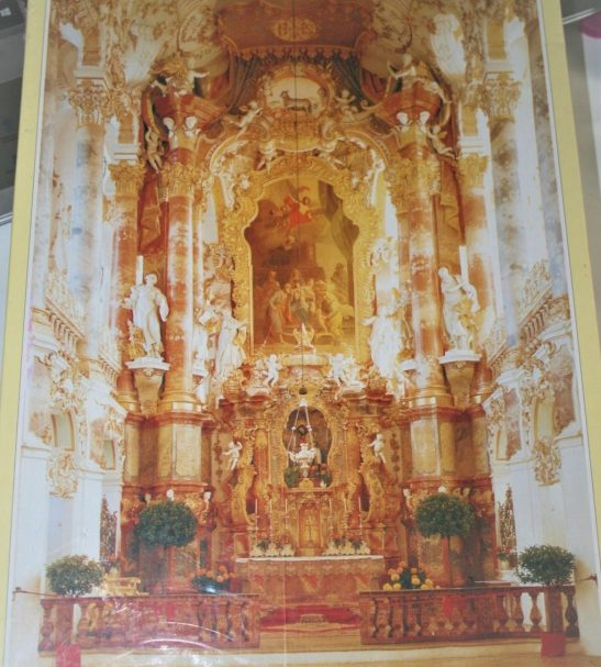 Image of the puzzle 1500, JR Puzzles, Wieskirche, Bavaria, Germany, Factory Sealed, Listed by Cathy,