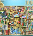 Image of the puzzle 1000,The Bizarre Bookshop No. 2, by Colin Thompson, Factory Sealed