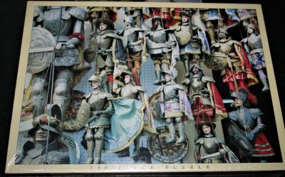 Image of the puzzle 750, JR Puzzles, Sicilian Puppets, Factory Sealed