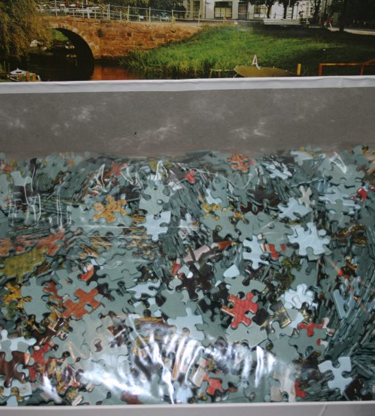 Image of the puzzle Image of the puzzle 4000, Arrow, Schleswig Holstein, Germany, Sealed Bag, Picture of the bag