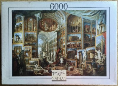 Image of the puzzle 6000, Nathan, Gallery of Views of Ancient Rome, Panini, Factory Sealed