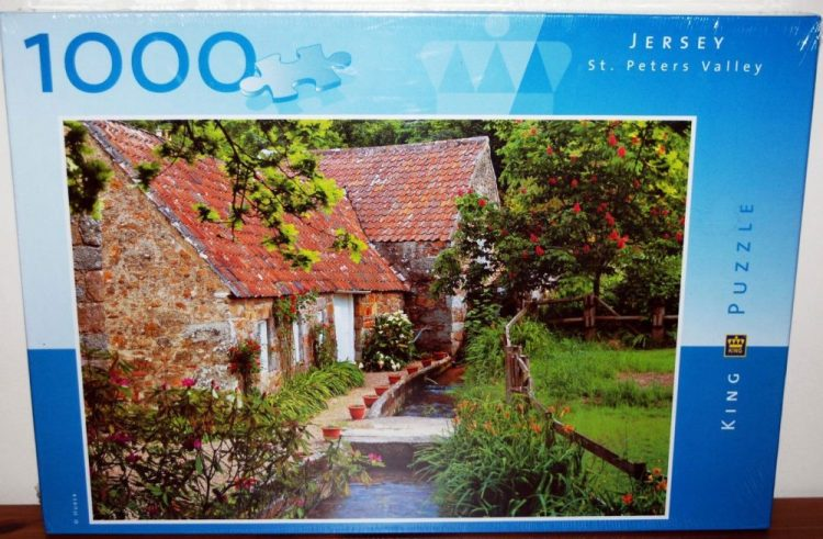 Image of the puzzle 1000, King, Jersey, St. Peter's Valley, Factory Sealed, Listed by Cathy