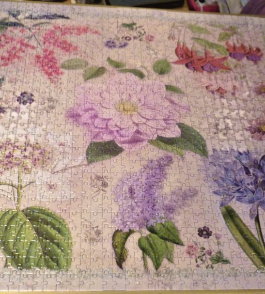 Image of the puzzle 1000, Otter House, Botanica, Complete, Picture of the puzzle assembled