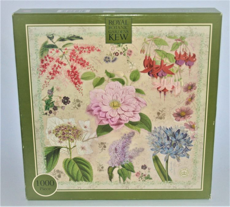 Image of the puzzle 1000, Otter House, Botanica, Complete, Picture of the box