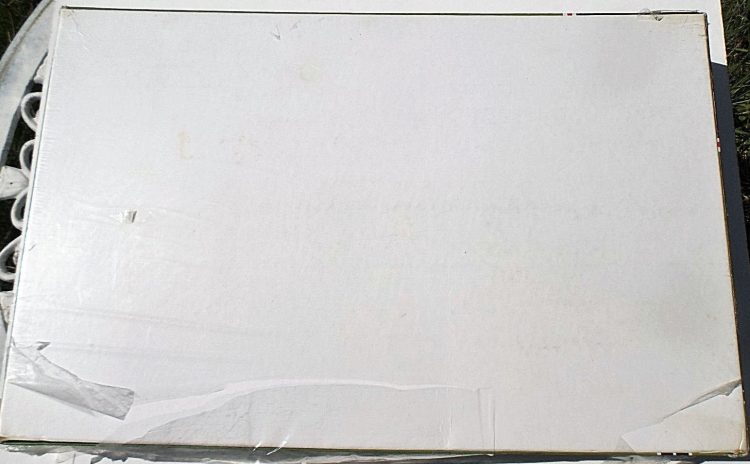 Image of the puzzle 5000, Falcon, Blickling Hall, Norfolk, Factory Sealed, Picture of the back