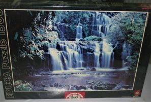 Image of the puzzle 1500, Educa Parakauni Falls, New Zealand, Factory Sealed