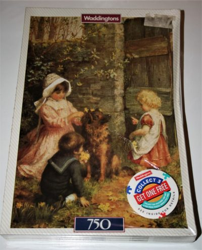 Image of the puzzle 750, Waddingtons, Spring Decorations, by A. G. King, Listed by Cathy