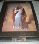 Image of the puzzle 1000, Clementoni, The Kiss, Francesco Hayez, Factory Sealed