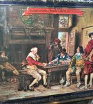 Image of the puzzle 500, Waddingtions, The Winning Card, by F. M. Bennett, Factory Sealed, Picture of the box