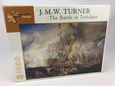 Image of the puzzle 1000 Pomegranate, The Battle of Trafalgar, by J. M. W. Turner, Picture of the front