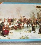 Image of the puzzle 1000, Falcon, A Winters Day in Saint James Park, by John Ritchie, Factory Sealed