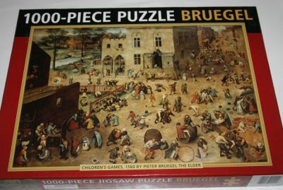 Image of the puzzle 1000, Peony Press, Childrens Games, by Bruegel, Listed by Cathy