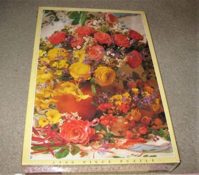 Image of the puzzle Flower Arrangement, JR Puzzles, Factory Sealed