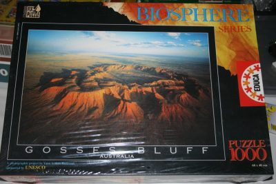 Image of the puzzle 1000, Educa, Grosses Bluff, Australia, by Yann Arthus-Bertrand, Factory Sealed,