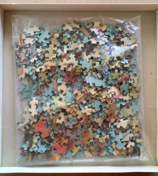 Image of the puzzle 450, Waddington, Diana Hunting, by Peter Paul Rubens, Picture of the bag