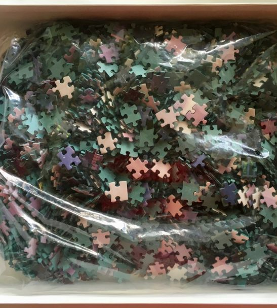 Image of the puzzle 3000, Beverly, Manhattan View, Sealed Bag, Picture of the bag