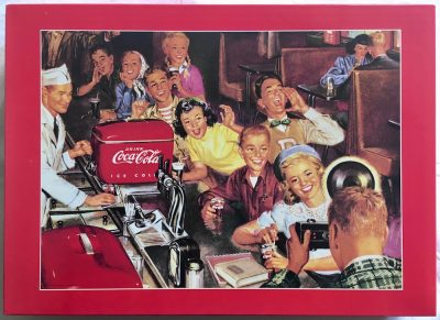 Image of the puzzle 2000, Central Hobby, Coca Cola, Sealed Bag, Picture of the box