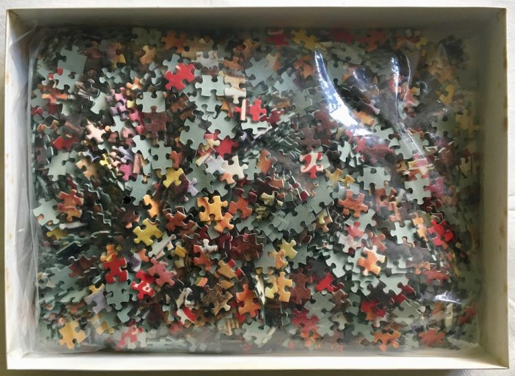 Image of the puzzle 2000, Central Hobby, Coca Cola, Sealed Bag, Picture of the bag