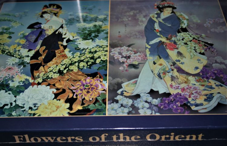 Image of the puzzle 2x1000, Express Gifts, Flowers of the Orient, Haruyo Morita