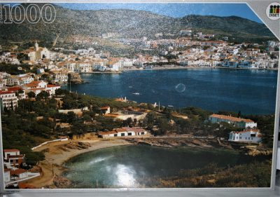 Image of the puzzle 1000, Diset, Costa Brava, Spain, Factory Sealed, Listed by Cathy