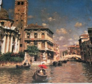 Image of the puzzle 1000, Heritage, Venice, San Geremia, Rubens Santoro, Listed by Cathy