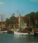 Image of the puzzle 2000, Arrow, Tonning Harbour, Germany, Sealed Bag, Picture of the box