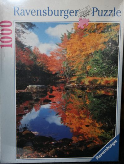 Image of the puzzle 1000, Ravensburger, Canada, Indian Summer, Factory Sealed
