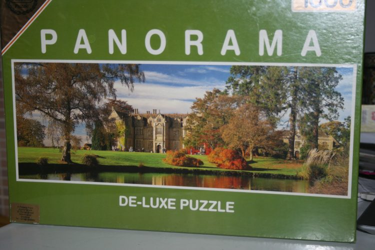 Image of the puzzle 1000, Falcon, Great Gardens, Wakehurst Palace, Sussex, Factory Sealed