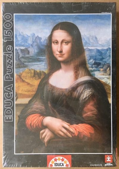 Image of the puzzle 1500, Educa, Prado Museum Gioconda, Unknown Artist, Factory Sealed