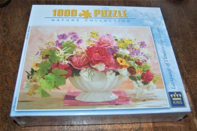 Image of the puzzle 1000, King, Language of Flowers, by Ulrike Schneiders, Factory Sealed