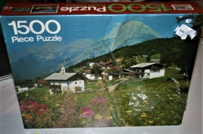 Image of the puzzle 1500, Arrow, Mosern, Austria, Factory Sealed, Picture of the box