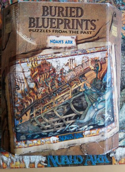 Image of the puzzle 1000, Master Pieces, Noahs Ark, by Albert Lorenz, Complete, Picture of the box