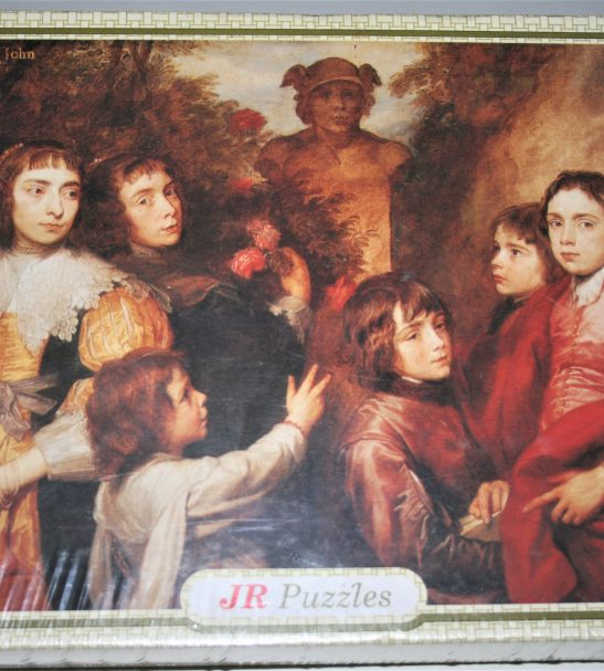 Image of the puzzle 1000, JR Puzzles, A Family Group, by Anthony van Dyck, Factory Sealed, Listed by Cathy