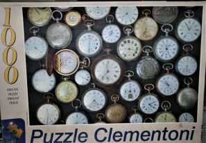 Image of the puzzle 1000, Clementoni, Watches, Complete, Picture of the box