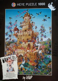 Image of the puzzle 1000, Heye, Wanted! Where is Safecracker Suzie?, by Jean-Jacques Loup, Complete, Picture of the box
