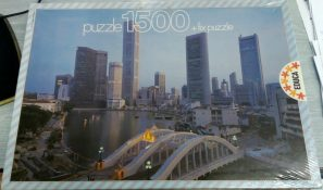 Image of the puzzle 1500, Educa, Singapur, Factory Sealed