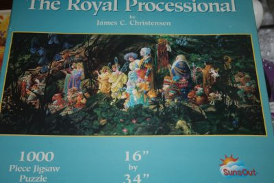 Image of the puzzle 1000, Sunsout, The Royal Processional, by James C. Christensen