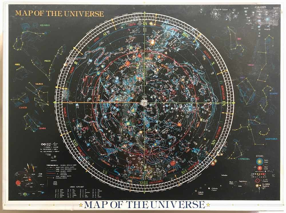 2014 Yanoman Map Of The Universe